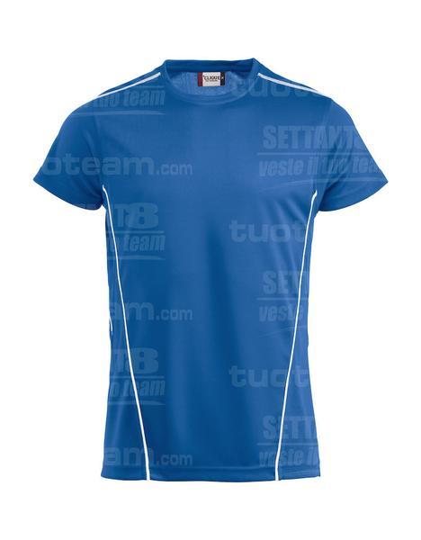 029336 - T-SHIRT Ice Sport-T - 5500 blu/bianco