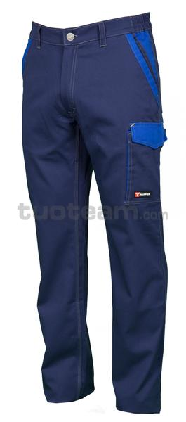 CANYON - PANTALONE CANYON - BLU NAVY/BLU ROYAL