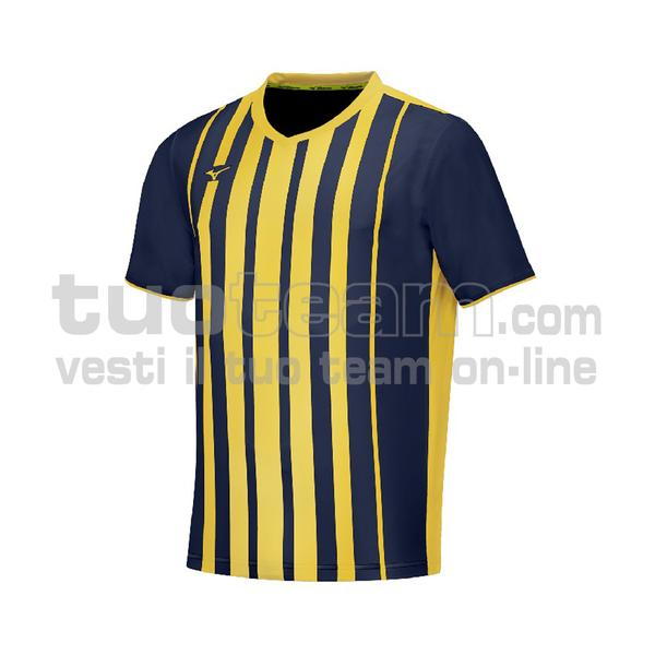 P2FA9A01 - GAME SHIRT SHIMA - Navy/yellow