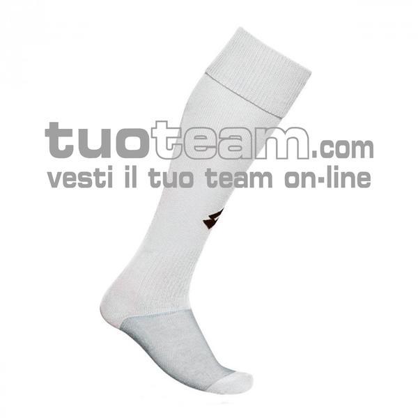 L53050 - LOGO SOCK TRNG LONG - bianco / nero
