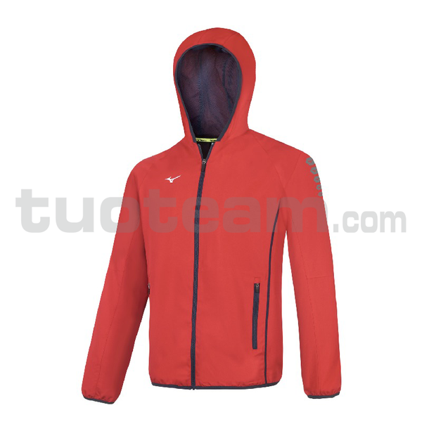 32EE7002 - Micro Jacket Hooded - Red/Red