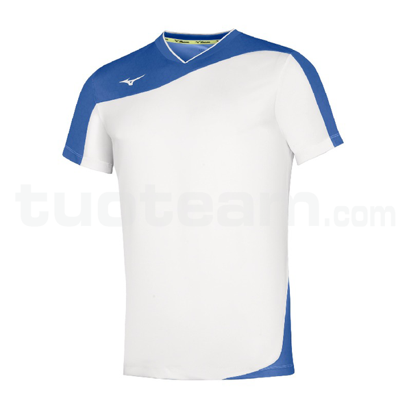 V2EA7004 - premium myou t shirt - White/Royal