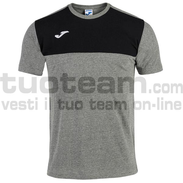 101683 - CAMISETA WINNER ROYAL-MARINO M/C - 281 MELANGE / NERO
