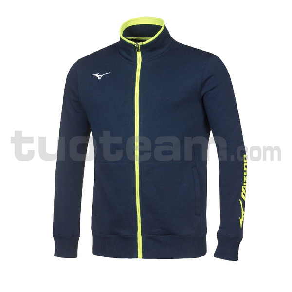 32EC7009 - sweat FZ giacca - Navy/White