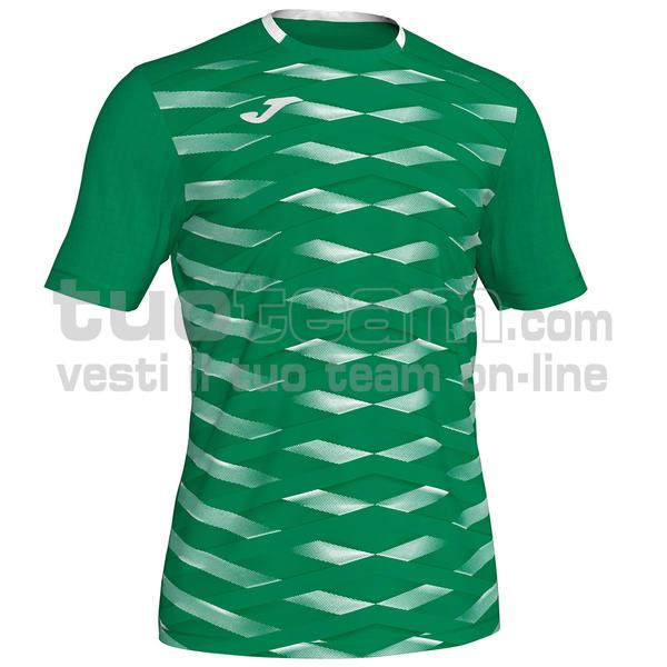 101290 - MYSKIN ACADEMY MAGLIA 100% polyester interlock - 452 VERDE / BIANCO