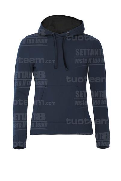 021042 - FELPA Classic Hoody Ladies - 580 blu