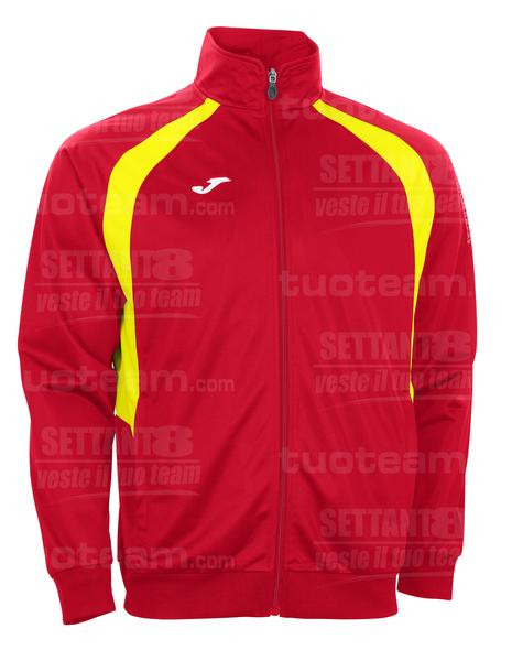 100017 - GIACCA TRICOT CHAMPION III - 609 ROSSO/GIALLO