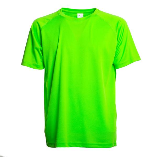 SPRINTEX - T-SHIRT RUNNING - FLUO GREEN