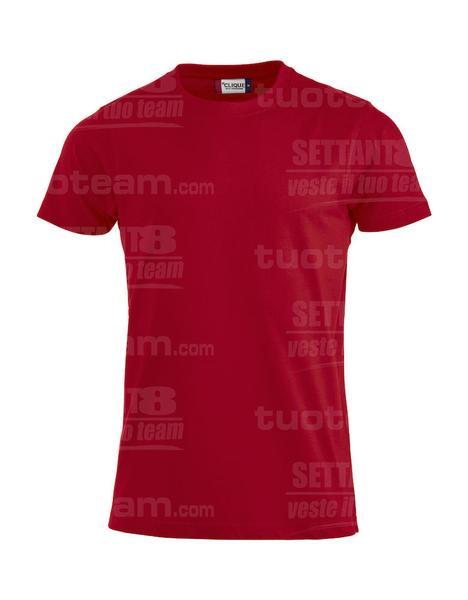 029340 - T-SHIRT Premium-T Mens - 35 rosso