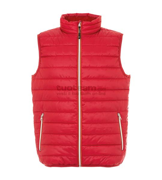 99172 - Gilet Worms Man - ROSSO