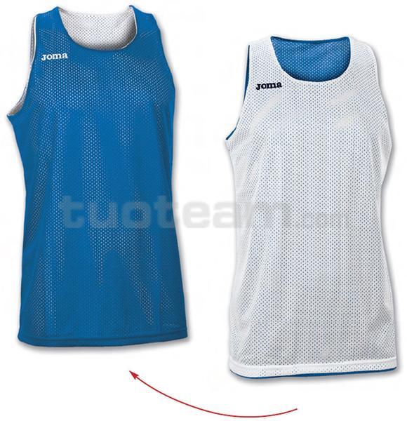 100050 - ARO MAGLIA DOUBLE 100% polyester mesh - 700 BLU/BIANCO
