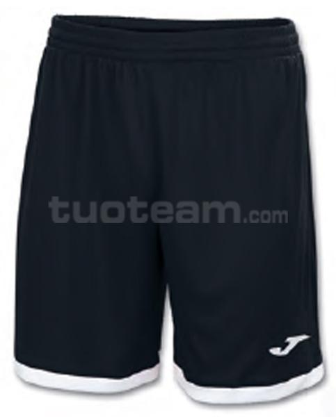 100006 - TOLEDO SHORT 100% polyester interlock - 100 NERO/BIANCO
