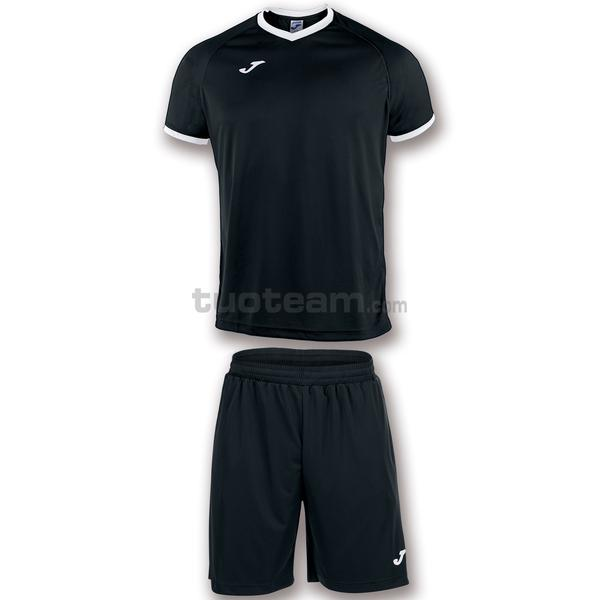 101097 - ACADEMY SET M/C MAGLIA+SHORT polyester light