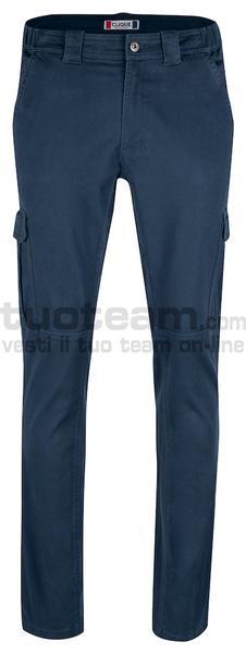 022045 - Cargo Pocket Stretch - 580 blu navy