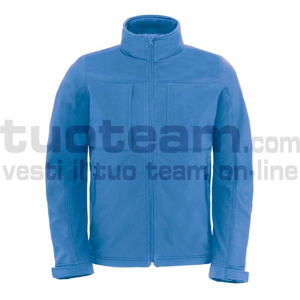CJM950 - Hooded Softshell Jacket - Azure