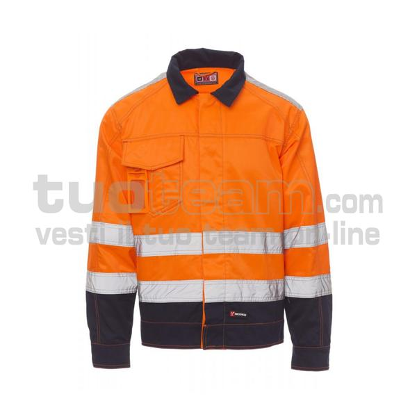 SAFE HI-VI WINTER - SAFE HI-VI WINTER SATIN FUSTAGNO 295GR 20%COTONE - ARANCIO FLUO