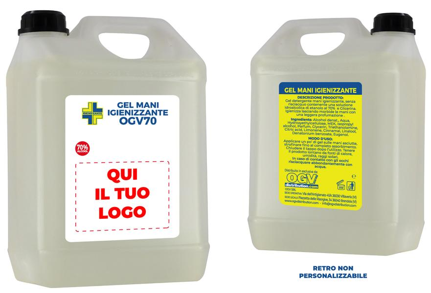 TT2000045 - TANICA GEL MANI ALCOLICO 5LT ( 1 pz )