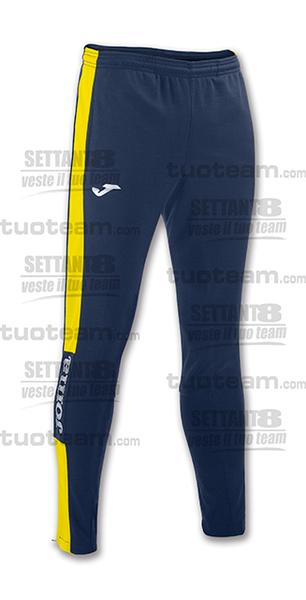 100761 - PANTALONE CHAMPION IV INTERLOCK - BLU NAVY/GIALLO/BIANCO