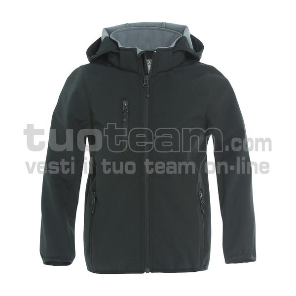 020909 - Basic Softshell Jacket Junior - 99 nero