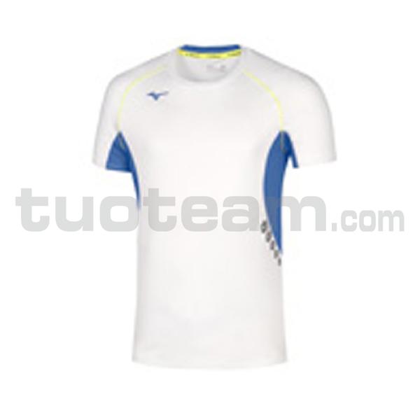 U2EA7002 - Premium JPN T-shirt - White/Royal