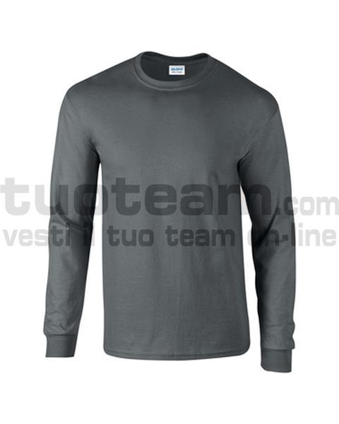 GL2400 - Ultra Cotton Maglia G/C-M/L 100% Cot. 205 gr/m2 - Charcoal