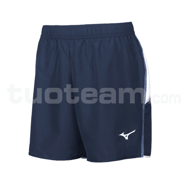 U2EB7401 - TEAM AUTHENTIC SQUARE SHORT JR - Navy/White