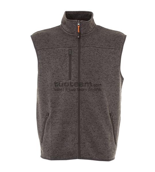 99177 - Knitted Fleece Bonn - DARK GREY