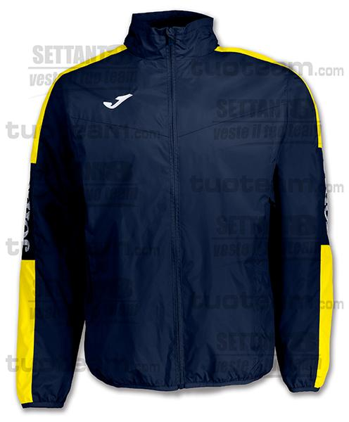 100689 - CHAMPION IV RAINJACKET CHAMPION IV FODERATO - BLU NAVY/GIALLO/BIANCO