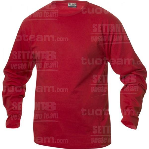 029329 - T-SHIRT Fashion-T m/lunga - 35 rosso