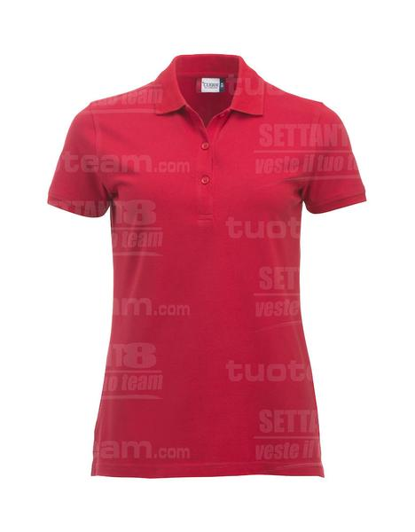 028246 - POLO New Classic Marion S/S - 35 rosso