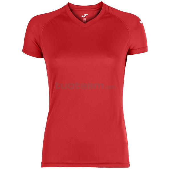 900475 - MAGLIA EVENTOS WOMAN 100% polyester mesh PACK/25 - 600 ROSSO