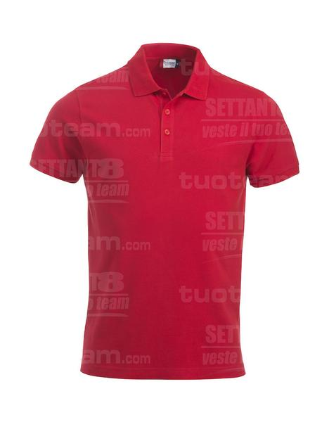028244 - POLO New Classic Lincoln S/S - 35 rosso