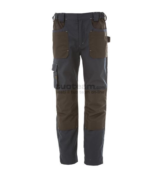 99182 - RIAD Pantalone multitasche elasticizzato - BLU NAVY