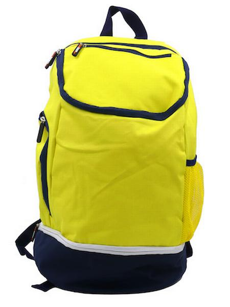 780087 - Zainetto Backpack 24 - giallo fluo / blu navy
