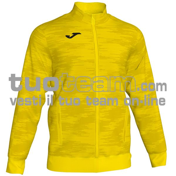 101369 - GRAFITY GIACCA FULL ZIP 100% polyester interlock - 900 GIALLO
