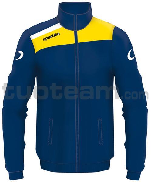 7245 - giacca NEST - BLU / GIALLO / BIANCO