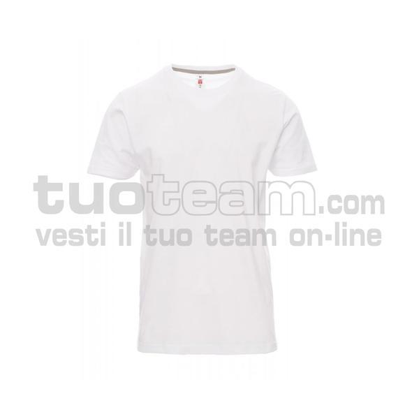 SUNRISE - T-shirt girocollo manica corta - BIANCO