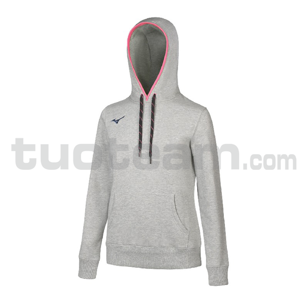 32EC7208 - TEAM SWEAT HOODIE WOS - Heather Grey/Navy