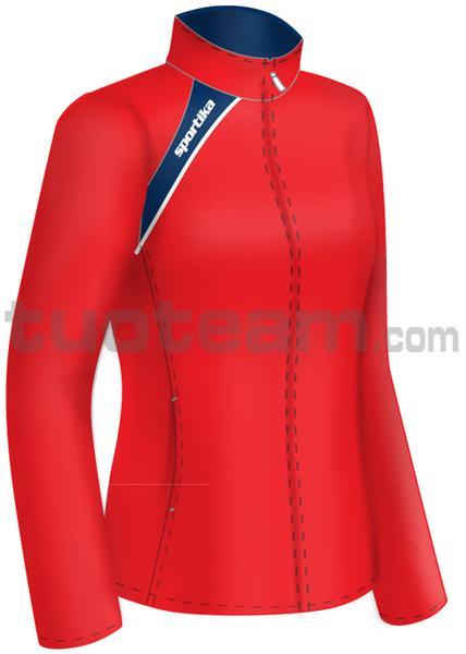 7260 - giacca PANAMA - ROSSO / BLU / BIANCO