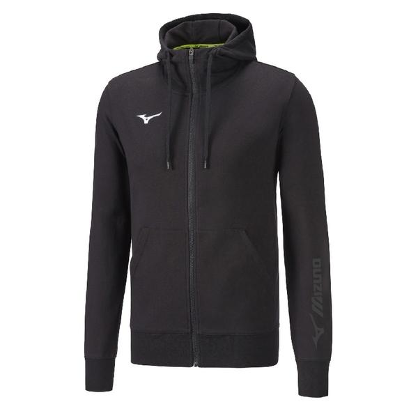 32EC8900 - SWEAT FZ FELPA JUNIOR - Black/Black