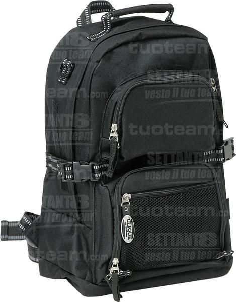 040103 - ZAINETTO Backpack - 99 nero