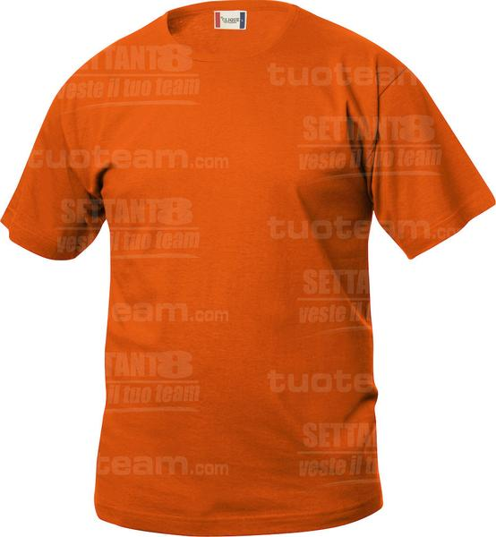 029032 - T-SHIRT Basic T Junior - 18 arancione