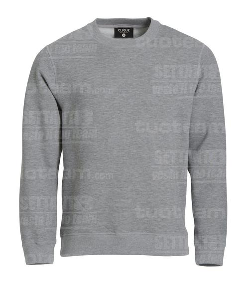 021040 - felpa girocollo Roundneck - 95 grigio melange