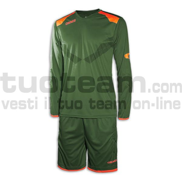 CH01 - Kit Denver - FORESTGREENORANGEFLUO