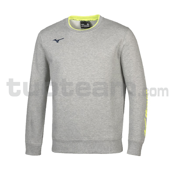 32EC7007 - Sweat felpa girocollo - Heather Grey/Navy