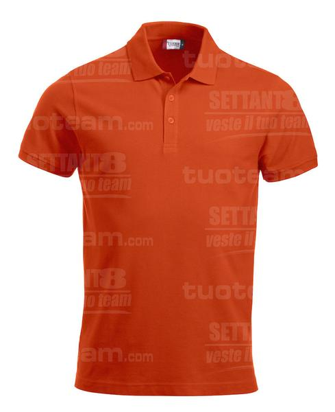028244 - POLO New Classic Lincoln S/S - 18 arancione
