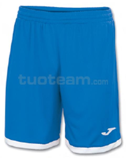 100006 - TOLEDO SHORT 100% polyester interlock - 700 BLU/BIANCO