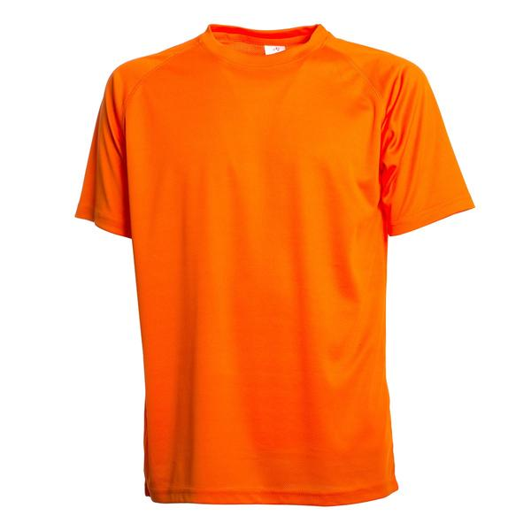 SPRINTEX - T-SHIRT RUNNING - FLUO ORANGE
