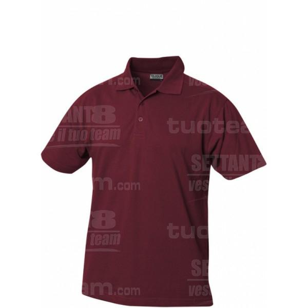 028216 - POLO Gibson - 38 bordeaux