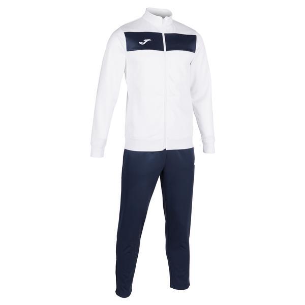 101352 - ACADEMY III TUTA 100% polyester fleece - 203 BIANCO / DARK NAVY